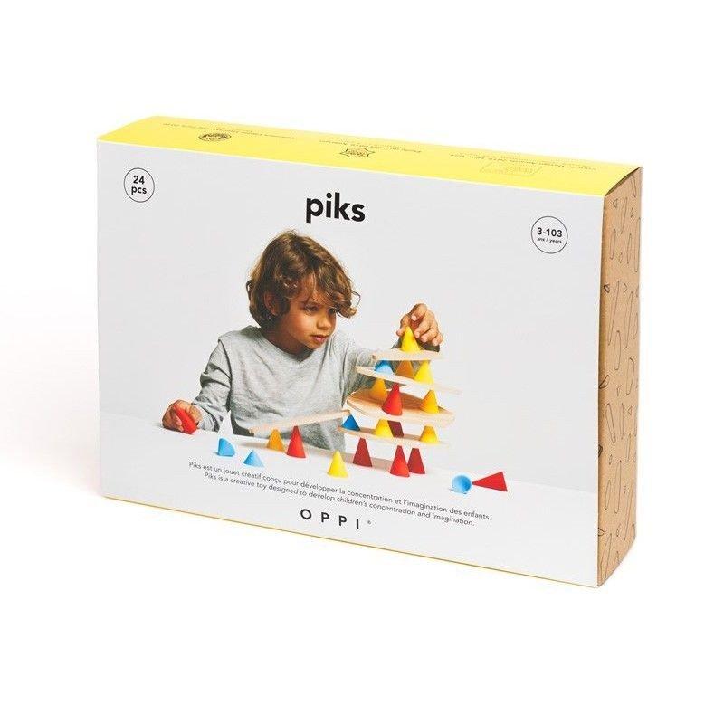 Caja del juego piks