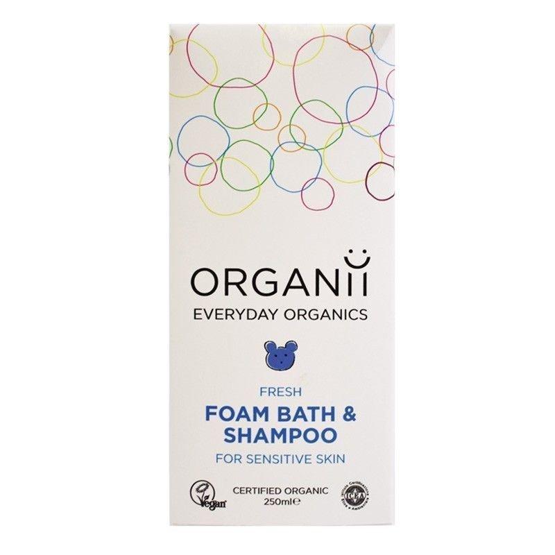 Caja Gel de baño y champú Organii