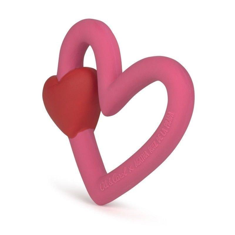 Corazón mordedor de Agatha Ruiz de  la Prada