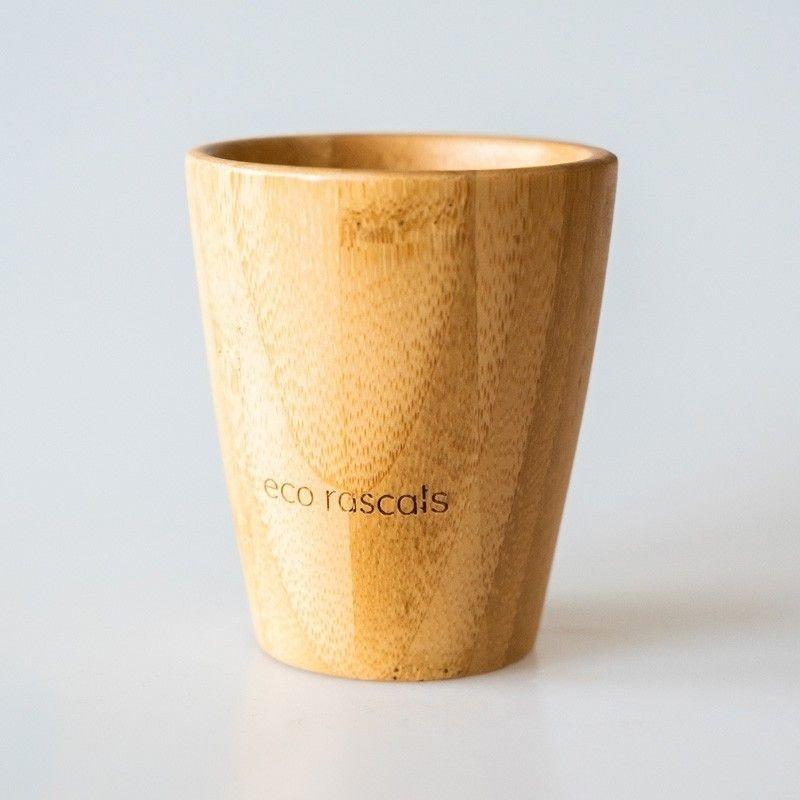 vaso bambú sin tapa