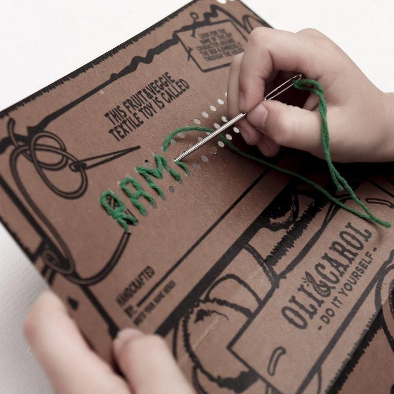packaging ecológico de Arnold the Avocado DIY